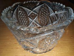 Ваза хрустальная конфетница (Чехия)