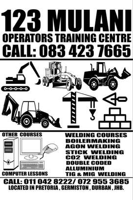 operators training school for graders,tlb,dump trucks in kempton park
