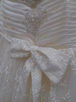 Свадебное платье! Или как выпускное!