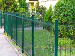 Wytrzymały panel ogrodzeniowy przetłaczany
