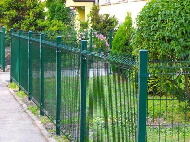 Wytrzymały panel ogrodzeniowy przetłaczany Września - image 1
