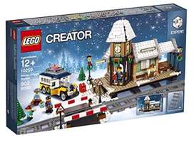 LEGO 10259 Creator Expert Winter Village Station. New and sealed.