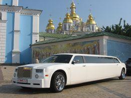 Аренда, Прокат, Заказ Лимузина Rolls-Royce Phantom (реплика 300С) Whit