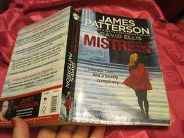 книга Триллер английский JAMES PATTERSON MISTRESS Джеймс Паттерсон