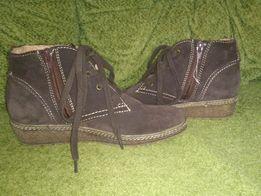 Продам замшевые ботиночки s'Oliver