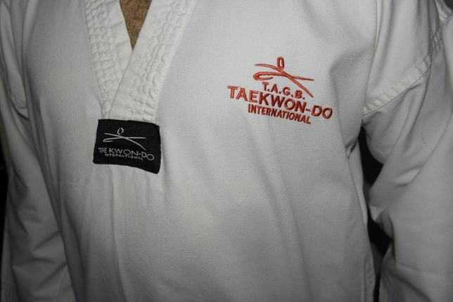 Tae Kwon DO кимоно куртка+штаны Тей Квон-до комплект Вараш - изображение 3