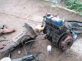 Datsun 1400 moter and gearbox