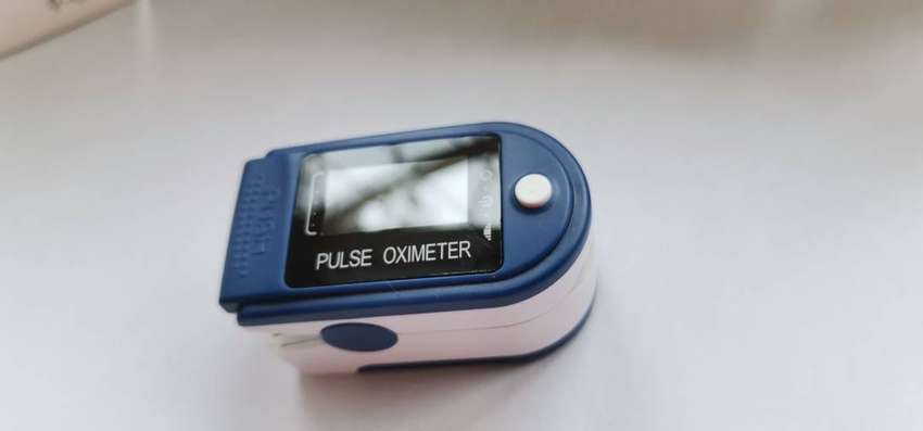Oxipulse meter, blood oxygen and heart rate monitor finger clips 0