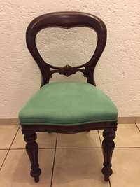 Image of French style Louis dining room chairs (6)