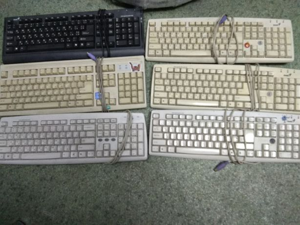 Клавиатура PS/2, Рабочая Киев - изображение 1