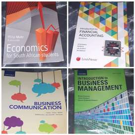 Accounting, business and economics textbooks