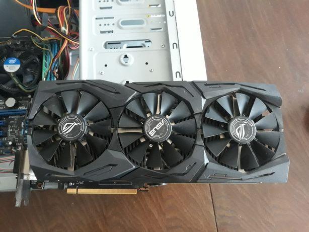 Видеокарта Asus ROG Radeon RX 580 STRIX 8192MB