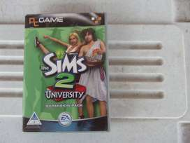 The Sims 2: University Expansion Pack (PC CD)