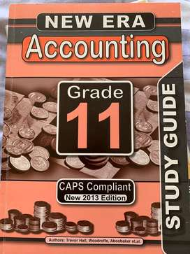 CAPS Grade 11 Accounting study guide