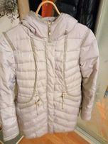 Пуховое зимнее пальто 46р.