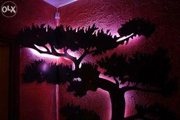 """""""Wieszak drzewo bonsai"""" design nowość (przedpokój, hol)"""