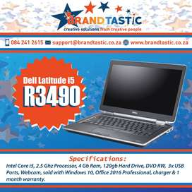 Dell Latitude E6320 i5 Laptop & Charger @ R3490