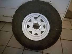 4x4'rims with tyres