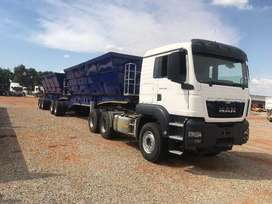 Inter Link Side Tippers - 34 tons Required for a Contract