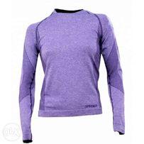nowa Koszulka SPYDER 7660 Runner termoaktywna narty bluzka fioletowa