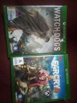 Xbox one watch dogs+far cry 4