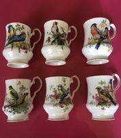 Royal Windsor набор фарфоровых чашек 6 шт. Англия