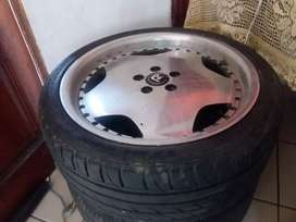 """17""""mags and tyres for polo 5 stud for sale"""