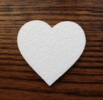 serca ze styropianu