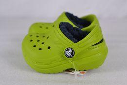 сандали детские Crocs Classic Lined Clogs Volt
