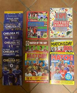 Soccer / Football Magazines, Books and Board games