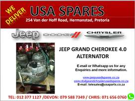 JEEP GRAND CHEROKEE 4.0 USED REPLACEMENT ALTERNATOR