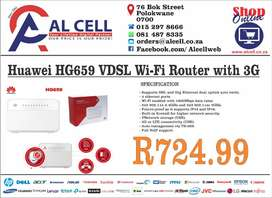 Huawei HG659 VDSL Wi-Fi Router with 3G