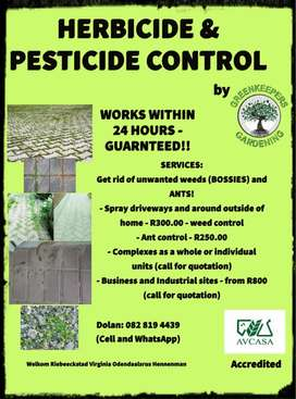 Weed & Pesticides Applications