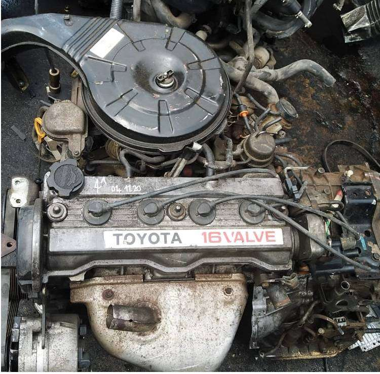 TOYOTA COROLLA 1.6L 16V FWD USED 4A ENGINES FOR SALE 0