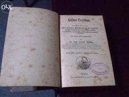 Książka niemiecka 1889