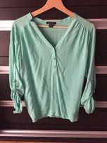 Zielona koszula damska