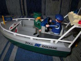 Playmobil motorówka łódka policyjna policja łódź motorowa