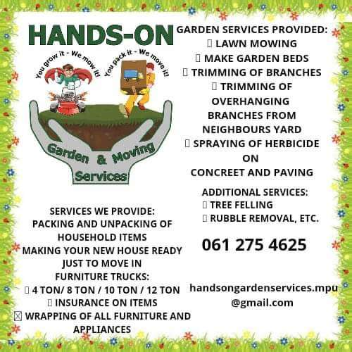 Hands-on Garden and Moving Services