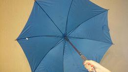 Зонт-трость полуавтомат новый прочный качественный