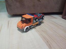 Lego Laweta Unikat Flatbed Truck