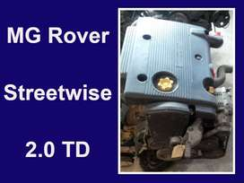 MG Rover engines for sale.
