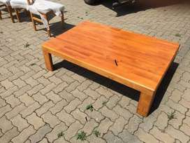 Wooden coffee and corner Table
