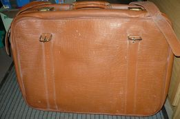 Skórzana walizka