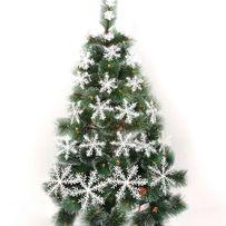 Новогодние снежинки для декора украшения окна елки помещений маникюра