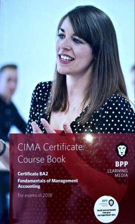 CIMA Certificate BA2: Fundamentals of Management Accounting