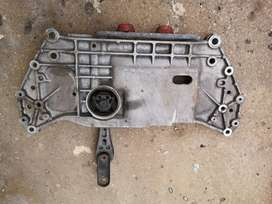 Golf 6 Gti subframe with mount and bushings