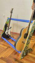 Стойка подставка для хранения гитар