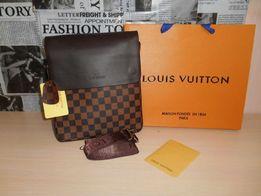 Skorzana męska torba Listonoszka Louis Vuitton, skóra, Francja LV 075