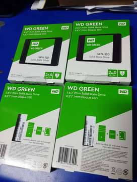 240GB Internal 3D NAND GREEN SSD. - For fast