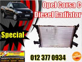 Opel new and used spares\parts- Corsa Diesel radiator